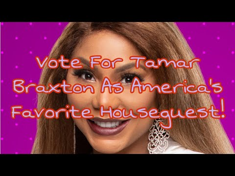 Vote For Tamar As America's Favorite Houseguest On Celebrity Big Brother (LINK IN BIO!) Mp3