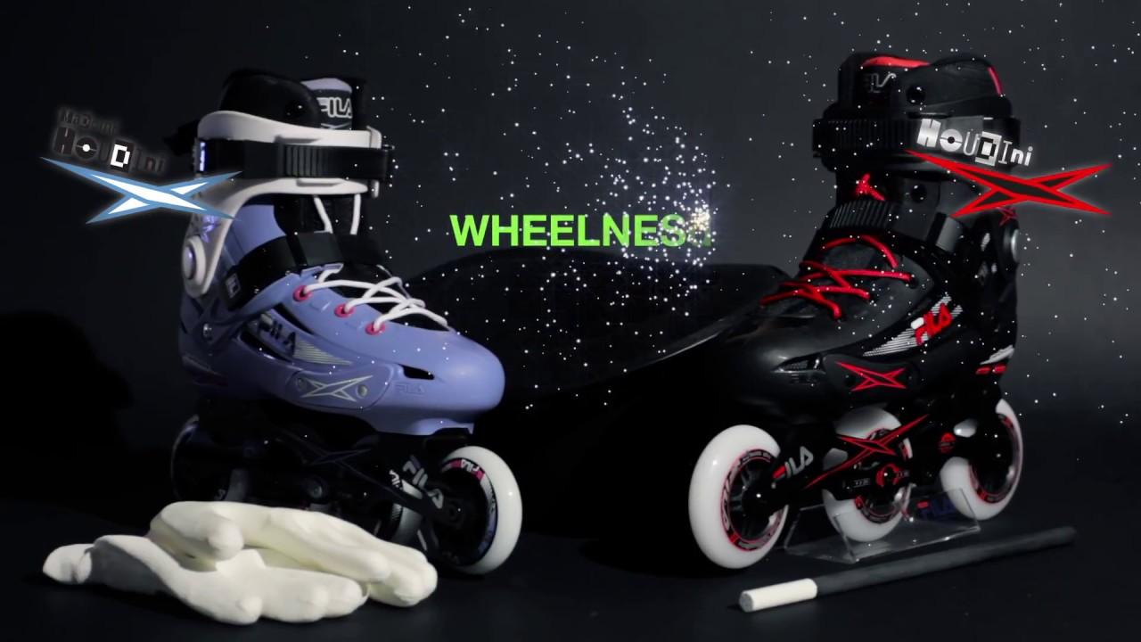 d61519b76b9 Houdini Fila Skates - YouTube
