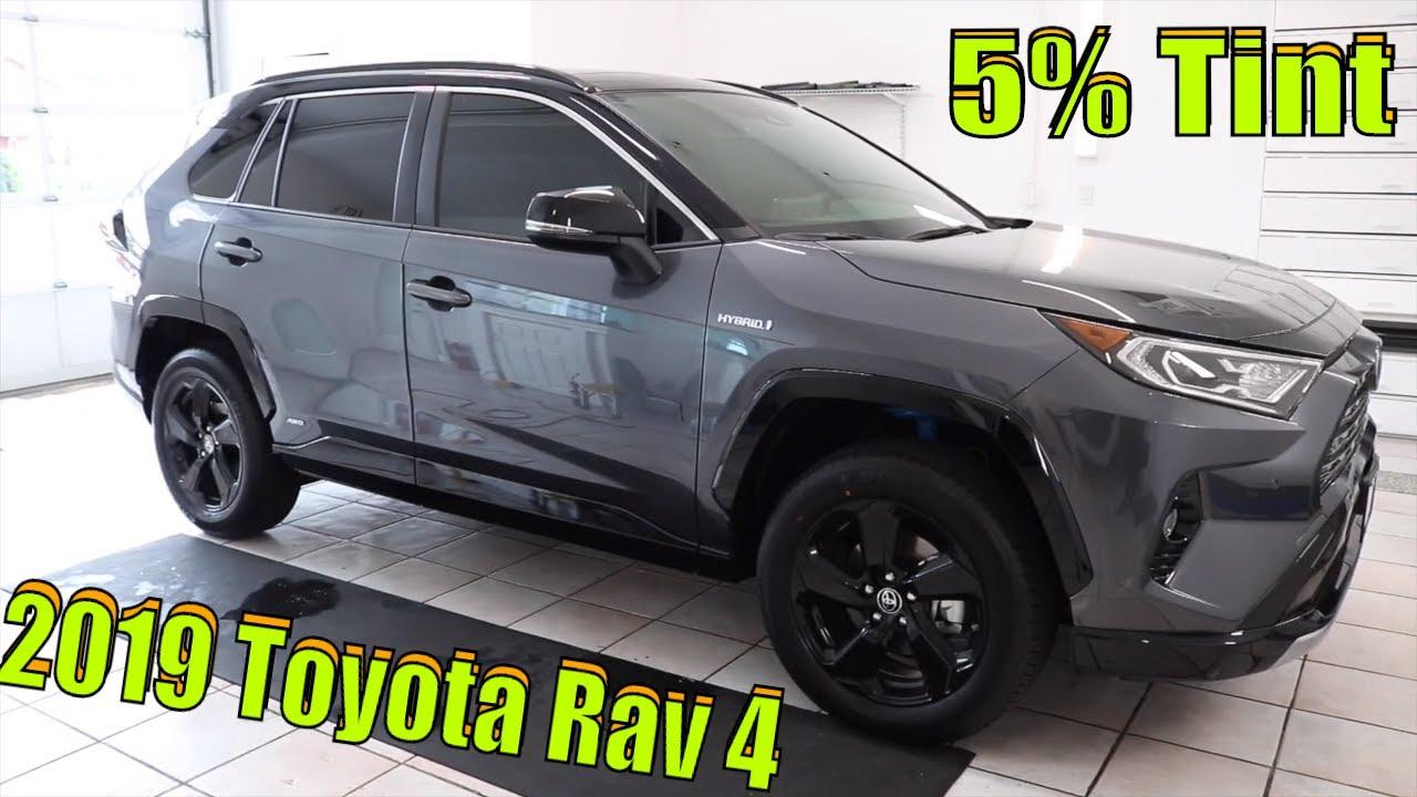 Toyota Rav4 5 Tint Youtube