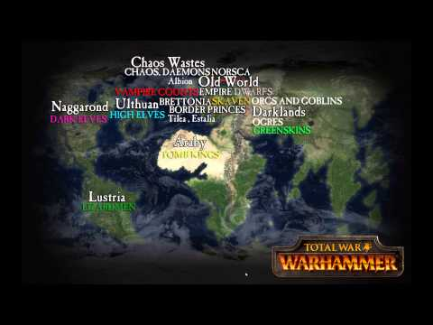 The Old World Of Warhammer And Beyond Geography Expansion Races