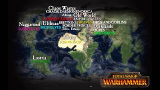 The Old World of Warhammer and Beyond - Geography, Expansion, Races and Factions