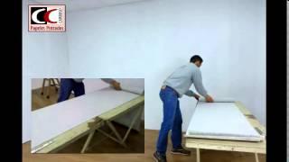 Instalación de papel pintado - parte 1 de 2