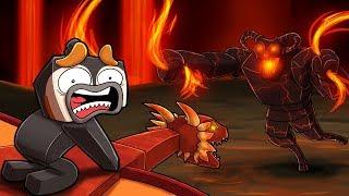 Minecraft Dragons - DRAGON KILLING GOD!