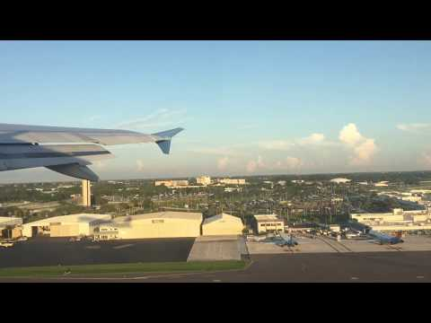 Departure and Landing : PIE to AVL