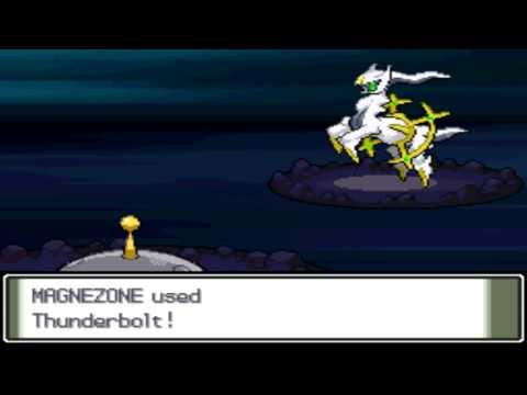 Pokémon Platinum - Capturing Arceus