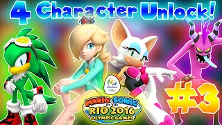 ABM: Mario & Sonic Rio 2016 Olympics Games!! Walkthrough 3 !! HD