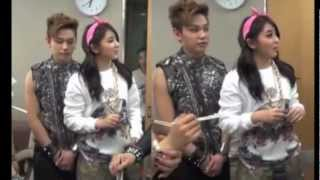 tofu couple btob s jung ilhoon 4minute s kwon sohyun