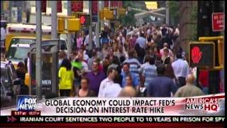 Global Economy Could Impact Fed's Decision On Interest Rate Hike - America's News HQ