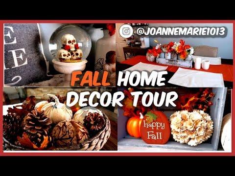 FALL HOME DECOR TOUR!   JOANNE MARIE1013
