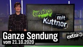 Extra 3 vom 21.10.2020 mit Sarah Kuttner