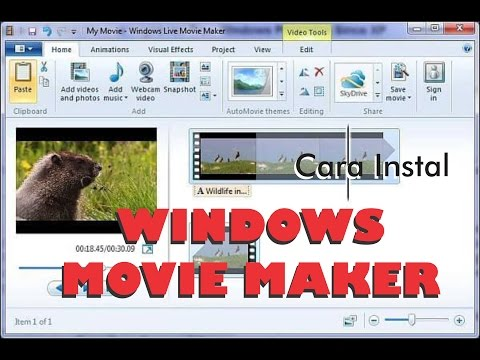 Cara instal windows movie maker full version with crack