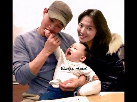 Song Joong Ki Song Hye Kyo Best Child S Love Sweet Moment Album
