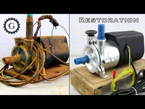 Electric Water Pump Restoration | Soviet Water Pump