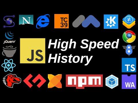High Speed History Of JavaScript