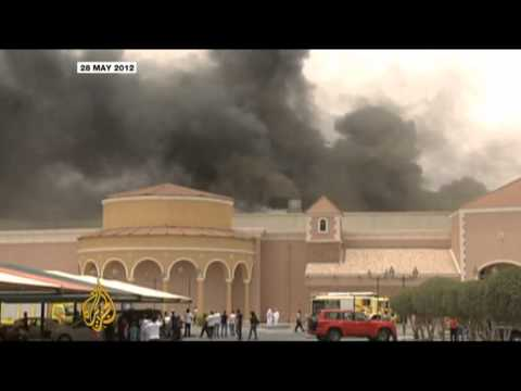 Five sentenced over Doha mall fire