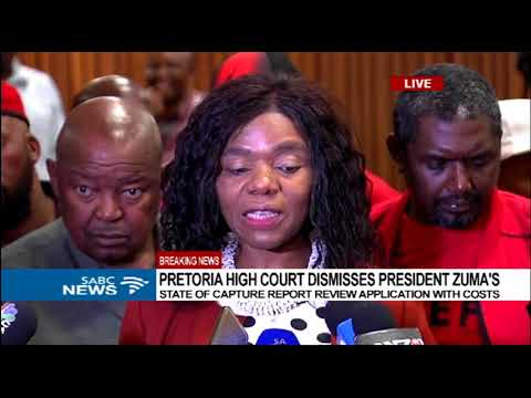 Madonsela reacts to court's judgement on Zuma's State Capture application