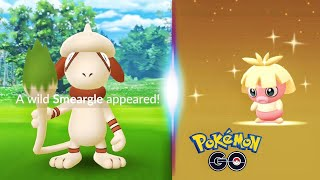 One AR Photo Is All It Takes To Find Smeargle In Pokemon GO + Shiny Smoochum Surprise!