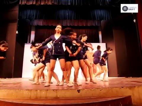 NRITYA-Western Dance Society (JDMC) Performance in Miss University 2016 || Campus Drift
