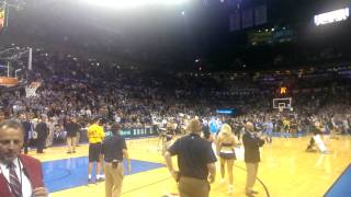 Oklahoma City Thunder half-court $20,000 shot