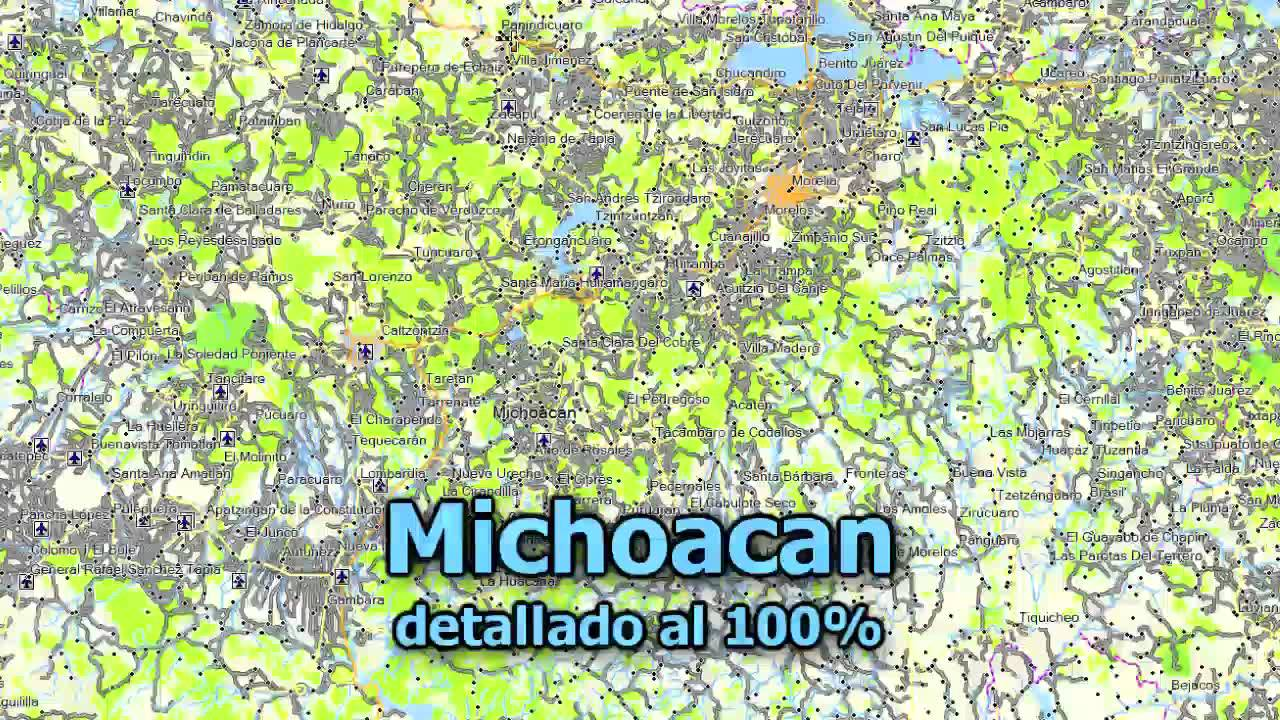 Map E32 2012 THE BEST TOPO MAP FOR OFF ROAD IN MEXICO Garmin GPS – Topographic Map Mexico