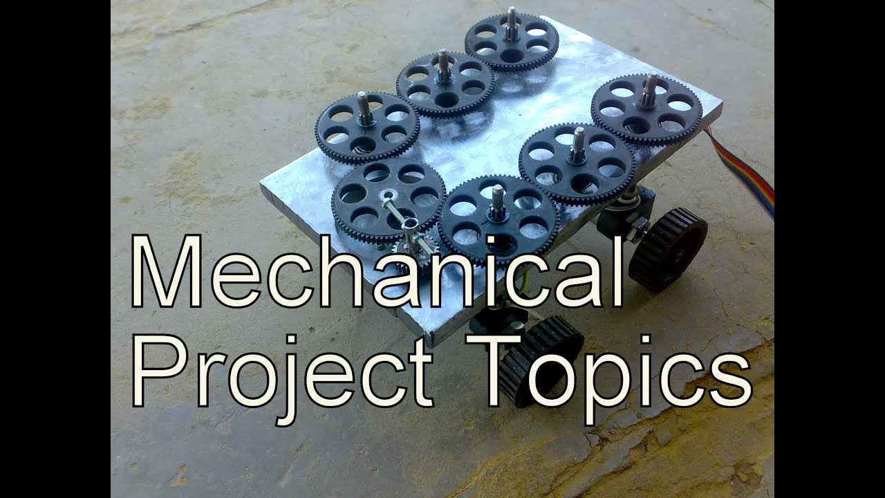 Mechanical technical for seminar engineering pdf topics