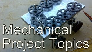 Mechanical engineering  Mini Projects Topics for students low cost