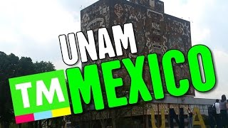 Mexico's MASSIVE College Campus - UNAM / University City