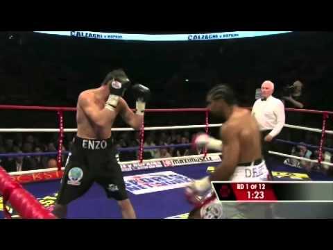 David Haye vs Enzo Maccarinelli (WBC,WBA,WBO & Ring Magazine World Cruiserweight Championships)
