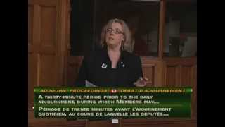 Elizabeth May: Adjournment Proceedings - Fisheries And Oceans