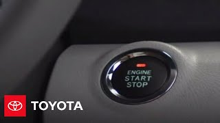 Camry How-To: Emergency Start Procedure | 2007 - 2009 Camry | Toyota