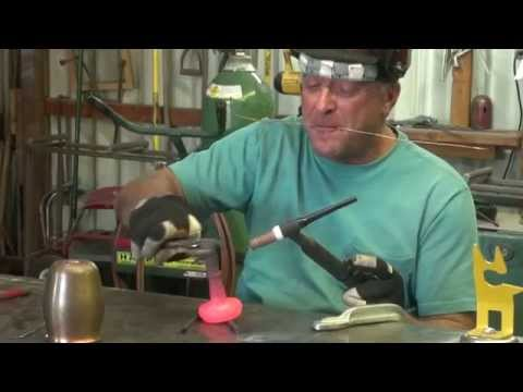 How to Weld Together a Copper Goblet - Kevin Caron