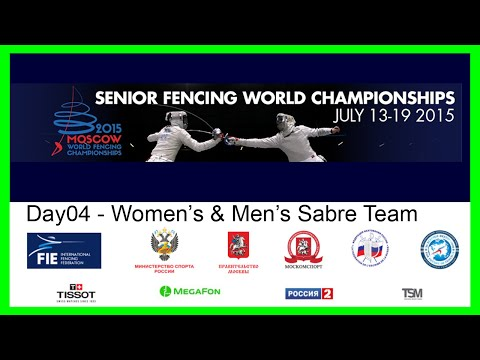 Senior Fencing World Championships Moscow 2015 - Day04 Team