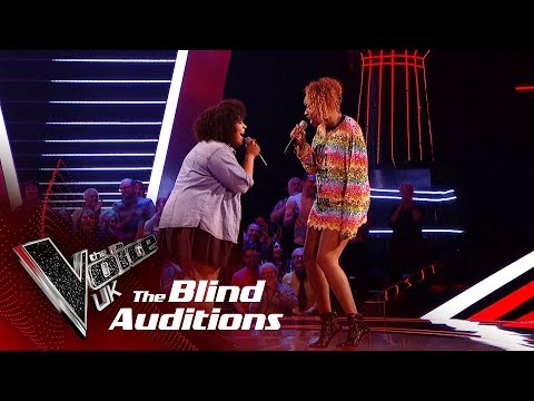 Jennifer Hudson & Nicole Dennis' 'And I Am Telling You' | Blind Auditions | The Voice UK 2019