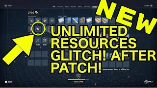 *NEW* FASTEST RESOURCE FARMING METHOD IN ASSASSIN'S CREED ORIGINS AFTER PATCH 1.10!!!