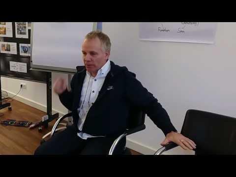 Jürgen im Seminar