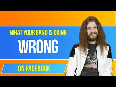 Your Band Is Using Facebook WRONG - How to Promote Your Music on Facebook