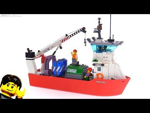 New LEGO Cargo Ship MOC -- Break Bulk Carrier (not good)