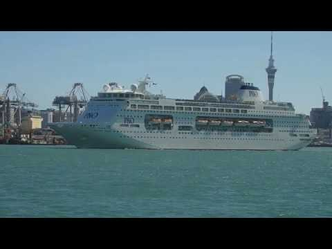 PACIFIC PEARL Departs Auckland