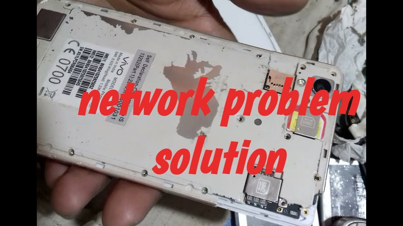 vivo y51l network problem solution