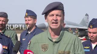 Serbia: Russian, Serbian air forces hold joint drills
