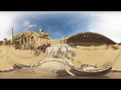 BEN-HUR (2016) - Chariot Race 360° Video - Paramount Pictures