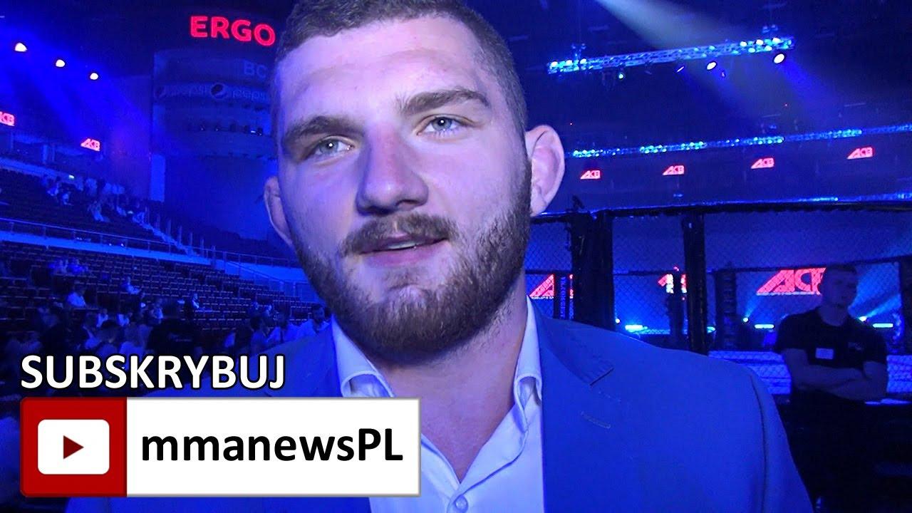 Michał Oleksiejczuk liczy na walkę o pas FEN z Przemysławem Mysialą