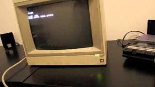 Apple II running as Apple 1 using Brain Board