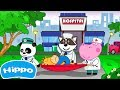 Hippo 🌼 Doctor Surgeon: Hospital games 🌼 Cartoon game for kids