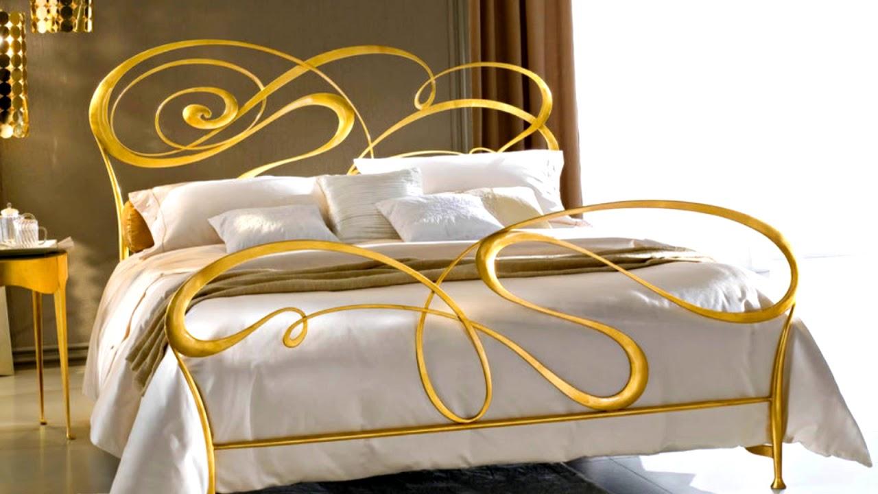 Кровать своими руками из металла – изготовление и покраска