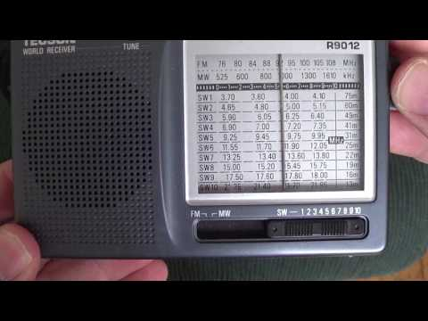 Radio Africa 21675 Khz Shortwave on Tecsun R9012 shortwave receiver