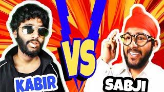 KABER vs SABJI ||COMEDY ||kabir Singh  vs sabji Singh ||new tik tok ||pagare ji|slman ||sahrukh |bo