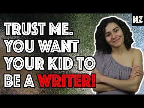 why-having-a-writer-kid-is-the-best-|-writing-skit