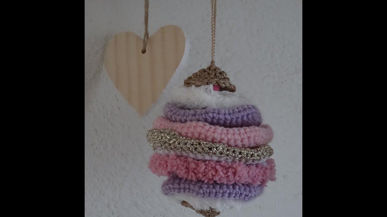 Gehaakte Kerstbal In Laagjes Bauble Crochet Youtube