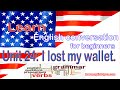 Unit 24 I lost my wallet | Learn English for beginners.
